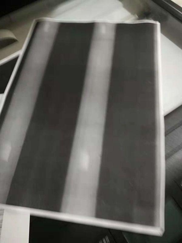 换载体后曝光全黑的效果,有明显的白道