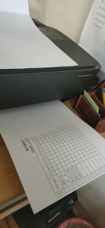 打印我的表格