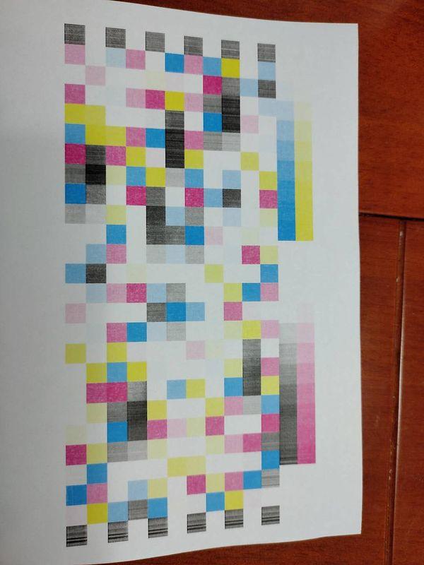 打印质量页