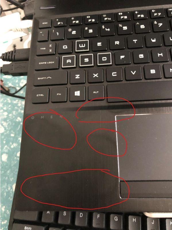 只在前一周使用了键盘,并且使用之后拿酒精棉布擦拭过