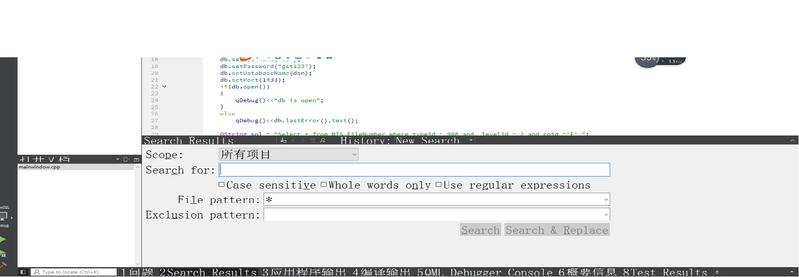 上面编辑代码正常,下面调试窗口文字明显过大