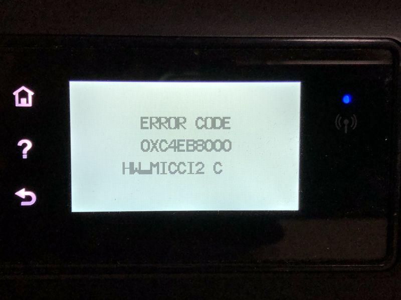 开机显示错误代码